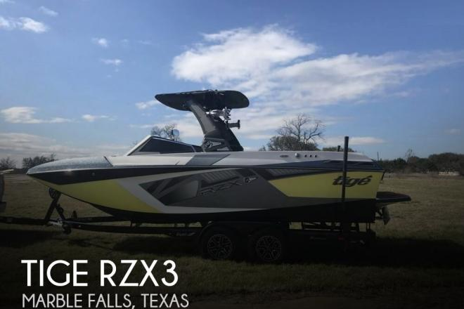 2018 Tige RZX3 - For Sale at Marble Falls, TX 78654 - ID 157340