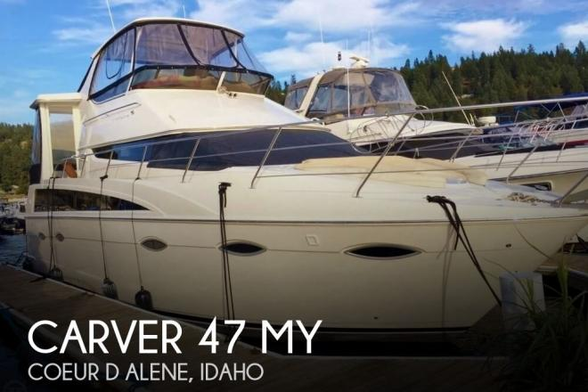 2008 Carver 47 MY - For Sale at Coeur D Alene, ID 83815 - ID 157247