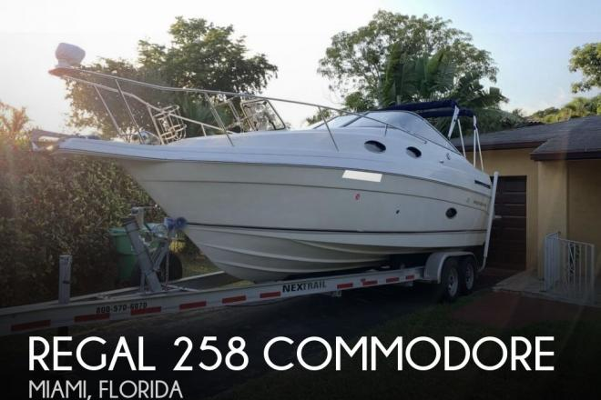 1998 Regal 258 Commodore - For Sale at Miami, FL 33155 - ID 157117