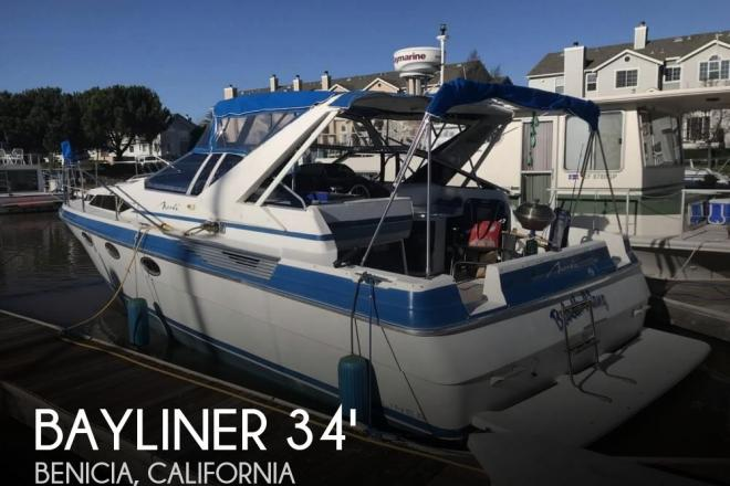 1988 Bayliner 3450 Avanti Sunbridge - For Sale at Benicia, CA 94510 - ID 157399