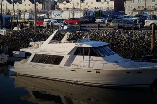 1997 Bayliner 4788 Pilothouse - For Sale at East Boothbay, ME 4544 - ID 156950