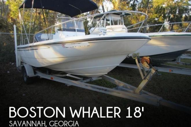 1999 Boston Whaler 18 Dauntless - For Sale at Savannah, GA 31410 - ID 157428