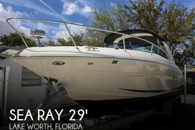 2007 Sea Ray 290 Sun Sport - For Sale at Lake Worth, FL 33463 - ID 159638
