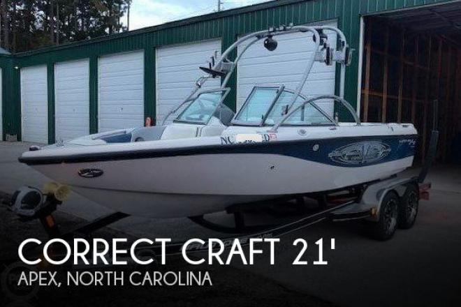 2004 Correct Craft Super Air Nautique 210 Team - For Sale at Apex, NC 27502 - ID 156583