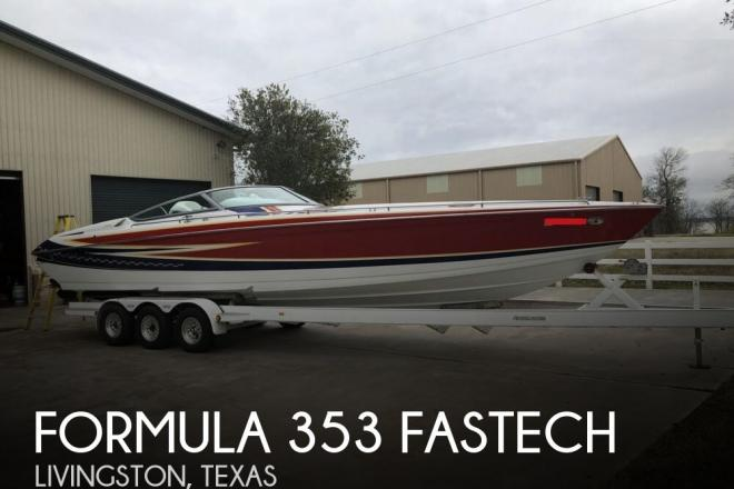 2007 Formula 353 FASTECH - For Sale at Livingston, TX 77351 - ID 157404