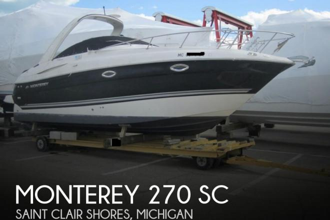 2007 Monterey 270 SC - For Sale at Saint Clair Shores, MI 48080 - ID 155787