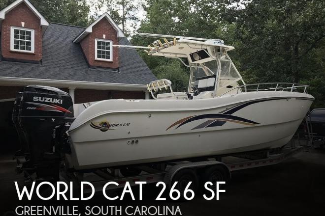 2001 World Cat 266 SF - For Sale at Greenville, SC 29601 - ID 155695