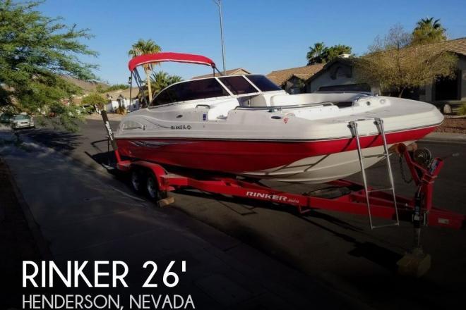 2007 Rinker Captiva 240 Deck Boat - For Sale at Henderson, NV 89002 - ID 155894