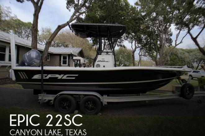 2014 Epic 22SC - For Sale at Canyon Lake, TX 78133 - ID 156446