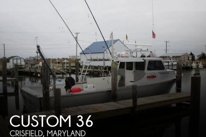 2007 Custom Built 36 - For Sale at Crisfield, MD 21817 - ID 156418