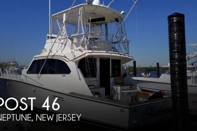 1986 Post 46 - For Sale at Belmar, NJ 7715 - ID 155259