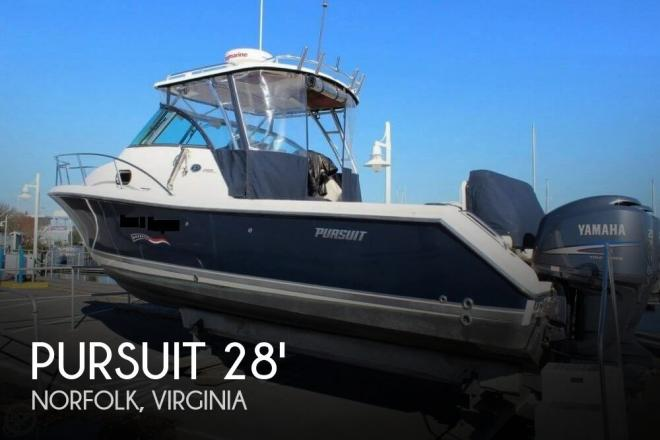 2009 Pursuit 285 Offshore - For Sale at Norfolk, VA 23501 - ID 159017