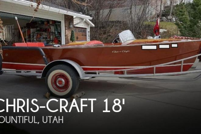 1948 Chris Craft 18 Runabout - For Sale at Bountiful, UT 84010 - ID 156962