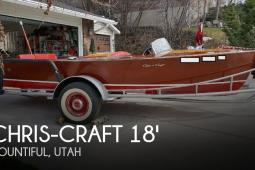 1948 Chris Craft 18 Runabout