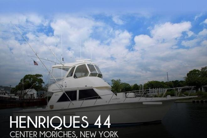 1989 Henriques 44 - For Sale at Hampton Bays, NY 11946 - ID 155802