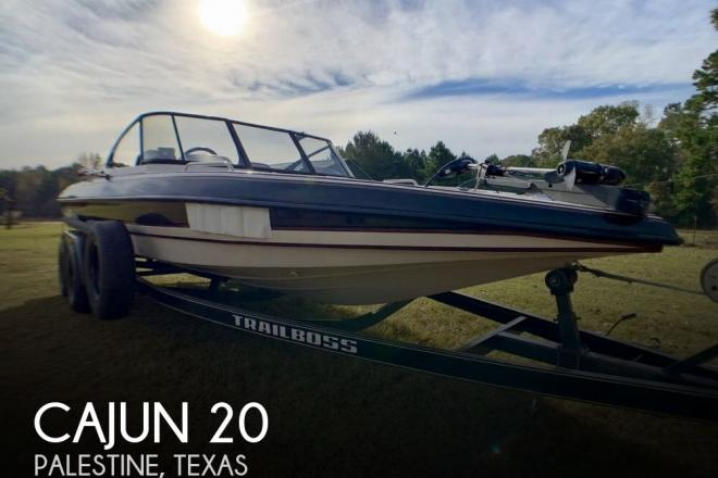 1995 Cajun 20 - For Sale at Palestine, TX 75803 - ID 154981