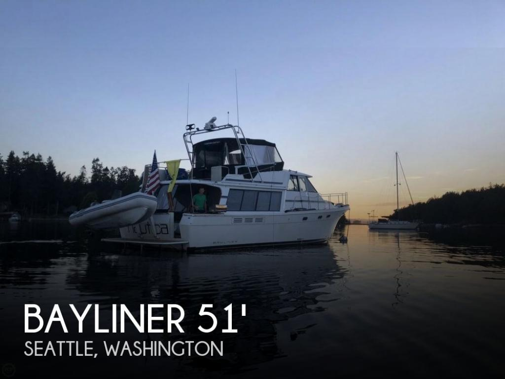 For Sale: 1991 Bayliner 4588 Pilothouse - $195,000 at Seattle, WA