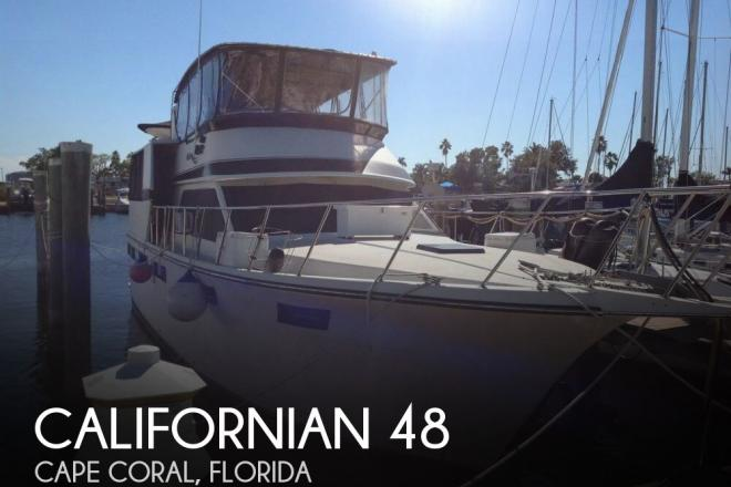 1987 Californian 48 - For Sale at Cape Coral, FL 33990 - ID 154518