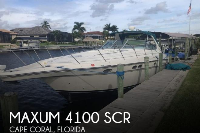 1997 Maxum 4100 SCR - For Sale at Cape Coral, FL 33990 - ID 154205