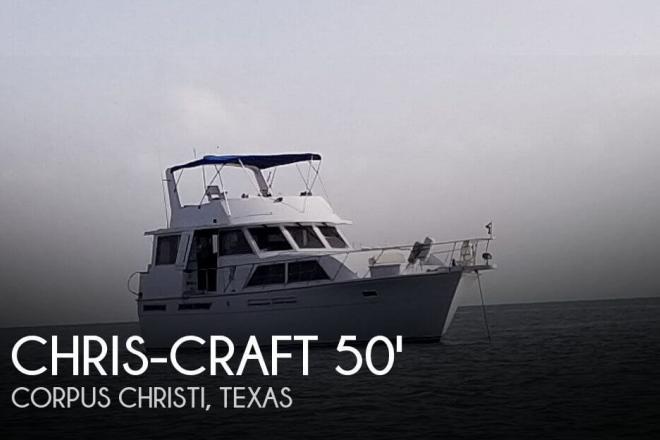 1985 Chris Craft 50 Constellation - For Sale at Corpus Christi, TX 78401 - ID 146848