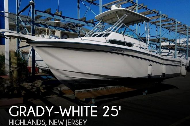 1992 Grady White Sailfish 254 - For Sale at Neptune, NJ 7753 - ID 153129