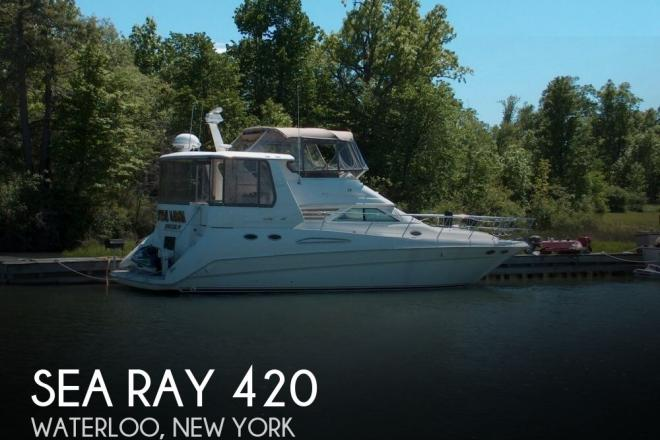1998 Sea Ray 420 - For Sale at Waterloo, NY 13165 - ID 153051