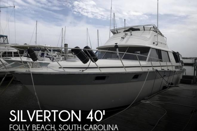 1986 Silverton 40 Aft Cabin - For Sale at Folly Beach, SC 29439 - ID 153419