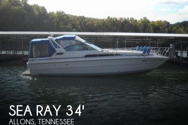 1988 Sea Ray 340 Sundancer - For Sale at Allons, TN 38541 - ID 153346