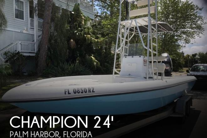 2008 Champion Bay Champ 24 - For Sale at Palm Harbor, FL 34684 - ID 152319