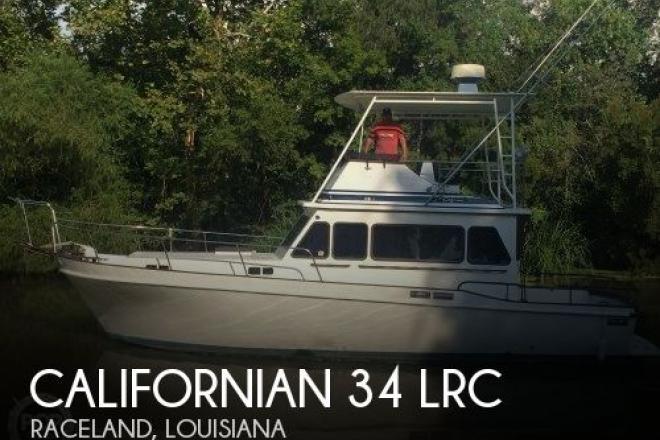 1981 Californian 34 LRC - For Sale at Raceland, LA 70394 - ID 153002