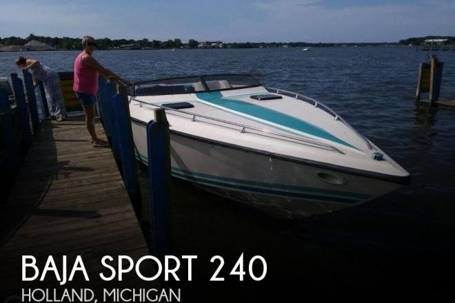1989 Baja Sport 240 - For Sale at Holland, MI 49424 - ID 151935