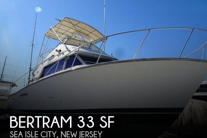 1983 Bertram 33 SF - For Sale at Sea Isle City, NJ 8243 - ID 153200