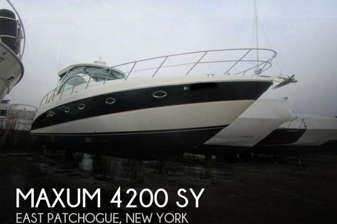 2003 Maxum 4200 SY - For Sale at East Patchogue, NY 11772 - ID 150727
