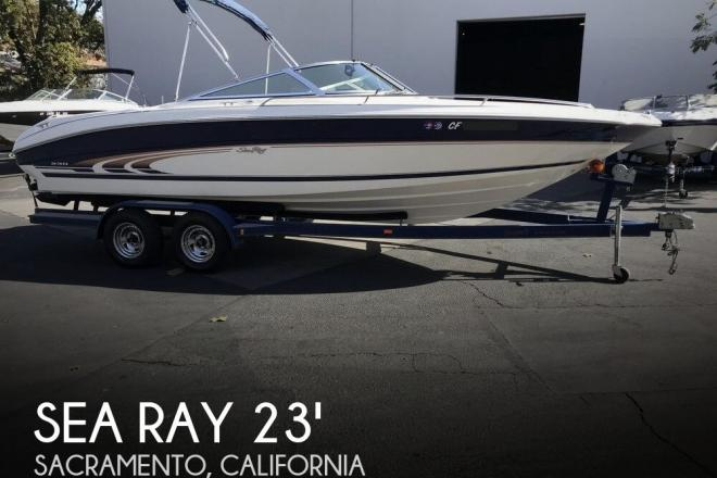 1998 Sea Ray 230 Bow Rider Select Signature - For Sale at Sacramento, CA 95818 - ID 149752