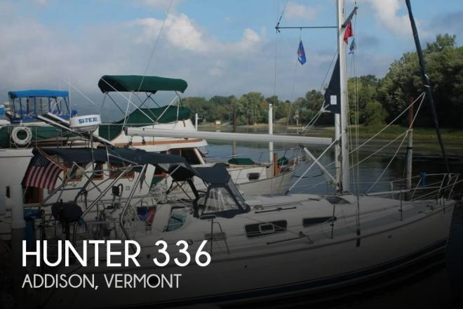 2005 Hunter 336 - For Sale at Vergennes, VT 5491 - ID 150738