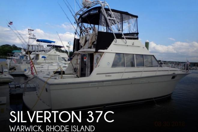 1989 Silverton 37C - For Sale at Warwick, RI 2889 - ID 149374