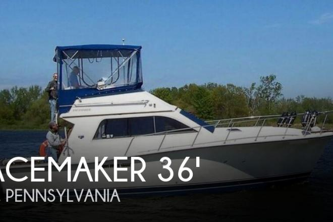 1988 Pacemaker 36 Sportfish - For Sale at Erie, PA 16507 - ID 154097