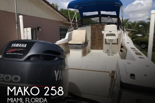 1986 Mako 258 - For Sale at Miami, FL 33176 - ID 149331