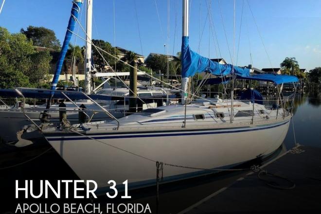 1987 Hunter 31 - For Sale at Apollo Beach, FL 33572 - ID 149334