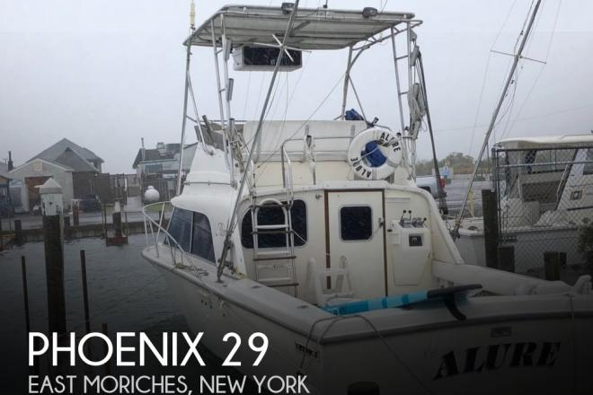 1986 Phoenix 29 - For Sale at East Moriches, NY 11940 - ID 154276