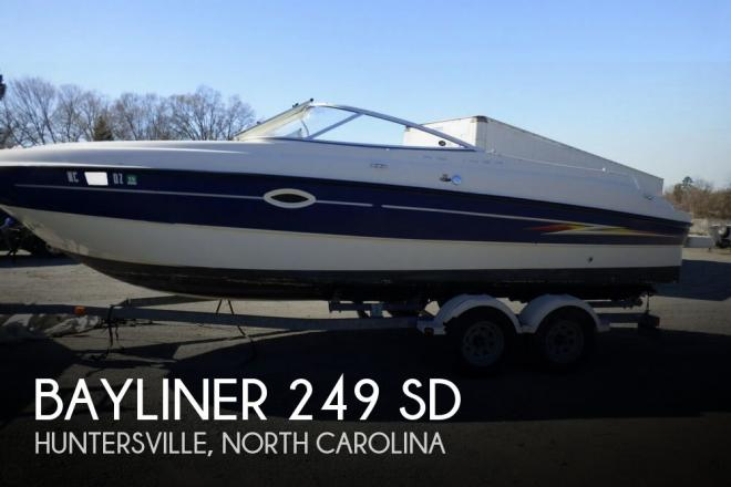 2005 Bayliner 249 SD - For Sale at Huntersville, NC 28070 - ID 148611