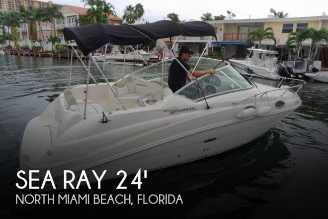 2007 Sea Ray 240 Sundancer - For Sale at North Miami Beach, FL 33160 - ID 148310
