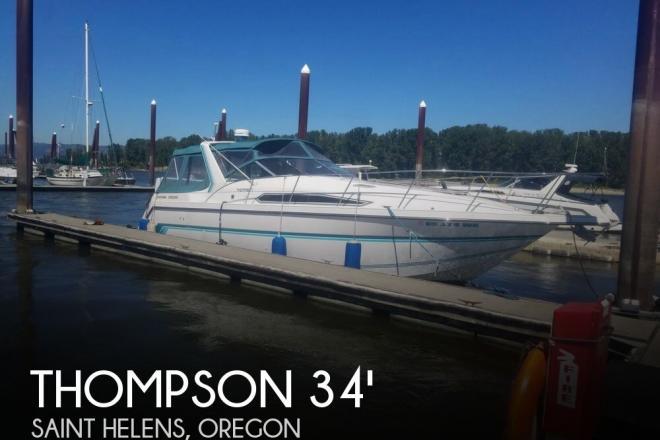 1992 Thompson 3400 Santa Cruz - For Sale at Saint Helens, OR 97051 - ID 147643