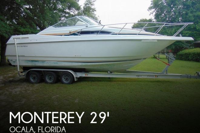 1995 Monterey 296 Cruiser - For Sale at Ocala, FL 34470 - ID 145955