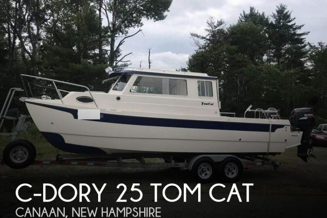 2007 C Dory 25 Tom Cat - For Sale at Canaan, NH 3741 - ID 145924