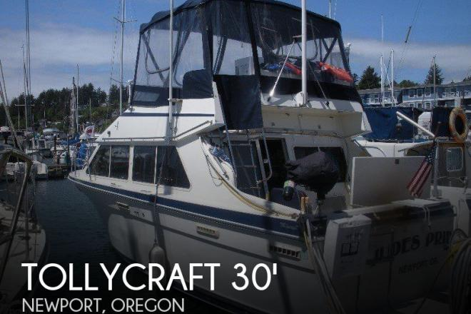 1988 Tollycraft 30 Sport Cruiser - For Sale at Newport, OR 97365 - ID 145969