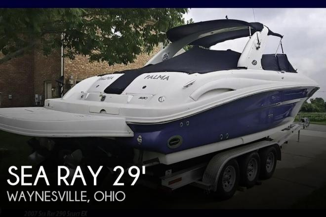 2007 Sea Ray 290 SLX - For Sale at Waynesville, OH 45068 - ID 145831
