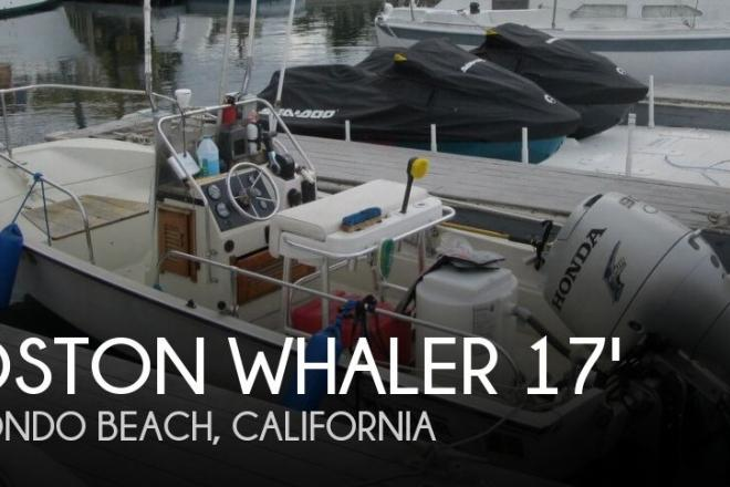 1986 Boston Whaler 17 Montauk - For Sale at Redondo Beach, CA 90277 - ID 146740