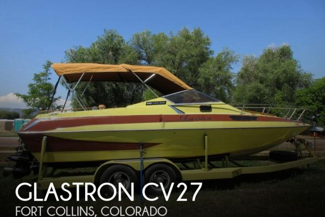 1981 Glastron CV27 - For Sale at Fort Collins, CO 80521 - ID 146845