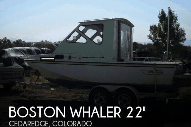 1985 Boston Whaler Revenge 22 Cuddy - For Sale at Cedaredge, CO 81413 - ID 148978